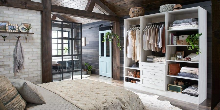 Closet In living Area